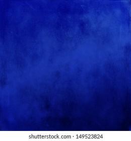 abstract blue background of elegant dark blue vintage grunge background texture black, web template, paper art canvas paint layout