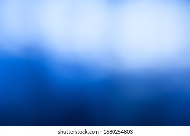 Abstract blue background fade to light tone