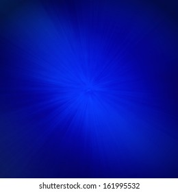 abstract blue background with faint starburst or sunburst center