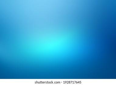 abstrakter blauer Hintergrund mit blauer Farbverlauf-Lichtstruktur.