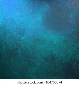 abstract blue background, gray grunge design texture and bright lighting with artistic sponge smeary paint on wall illustration for backdrop, paper, or web background templates