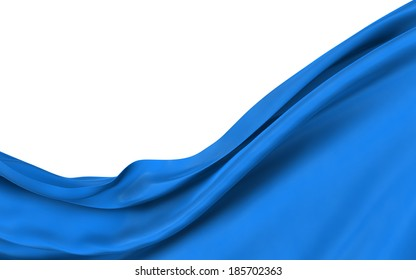 Abstract blue background, image isolated