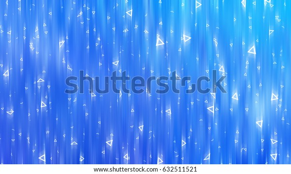 abstract blue background with triangles illustration digital.