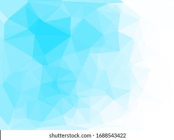 Abstract blue background for use in design cover or website