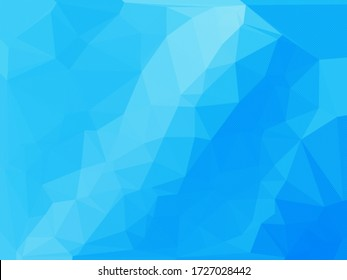 Abstract blue background for use in design cover or website.