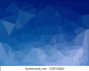Abstract blue background for use in design cover, presentation, business card or website.