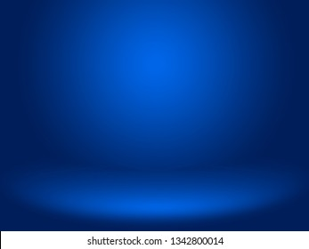 Abstract blue background for web design templates, christmas, valentine, product studio room and business report with smooth gradient color.