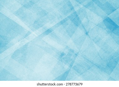 abstract blue background with white triangle pattern