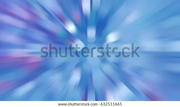 Abstract blue creative background. illustration digital.