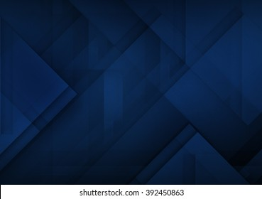 Abstract blue dark background for technology, business, computer or electronics products