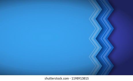 Abstract blue decorated angle geometric background with space for text design