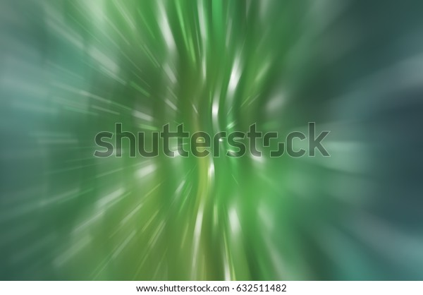 Abstract blue and green background. Explosion star. illustration digital
