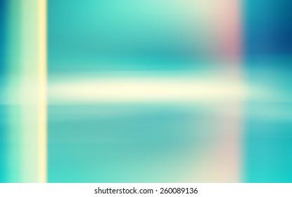 Abstract blue green Light Leak