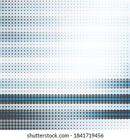 Abstract blue grey halftone background, technology data network connection concept
