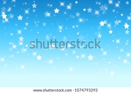 Abstract Blue Pastel Background Wallpaper Light Stock Illustration
