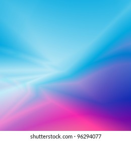abstract blue pink background with smooth curves