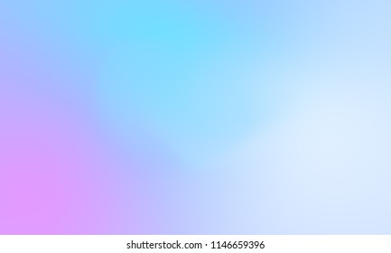 Abstract blue purple and pink soft cloud background in pastel colorful gradation.