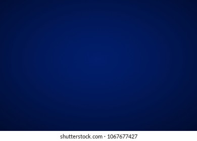 Abstract blue sapphire white smooth empty room backdrop background gradient used for display product ad wallpaper
