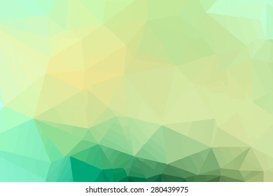 Abstract blue tone polygonal background