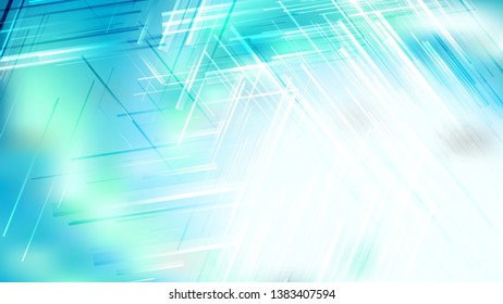 Abstract Blue and White Asymmetric Random Lines Background