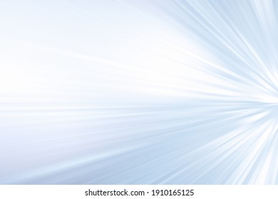 ABSTRACT BLUE AND WHITE SPEED MOTION LINES BACKGROUND