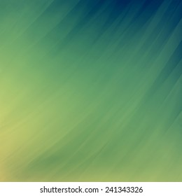 abstract blue yellow background, faded blurred streaks of paint in diagonal pattern