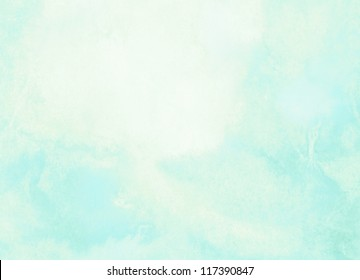 Abstract blue and yellow watercolor background.