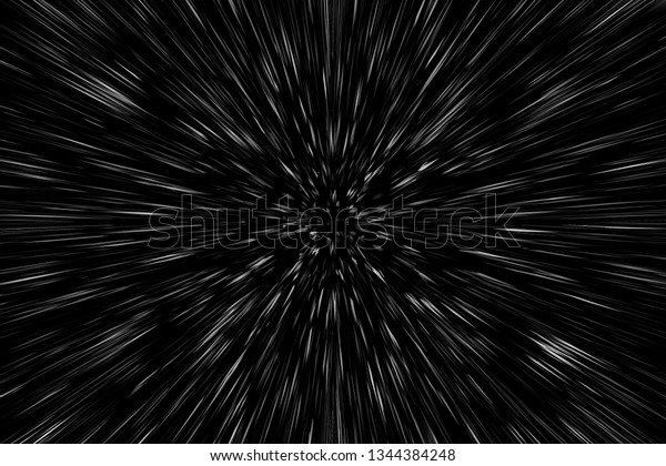 abstract blur in motion in space. effect of speed.