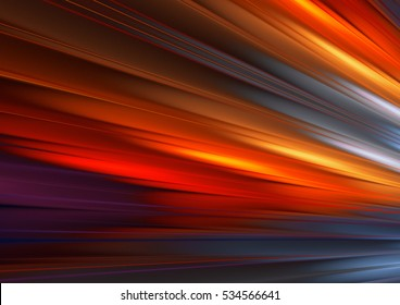 Abstract blurred background with lighting effect for graphic design. Red, yellow, blue and pink color motion. Bright glowing template for corporate card, cover brochure, flyer, poster, banner.