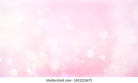 Abstract blurred beautiful glowing pastel gradient background with double exposure bokeh light concept for wedding card design or presentation