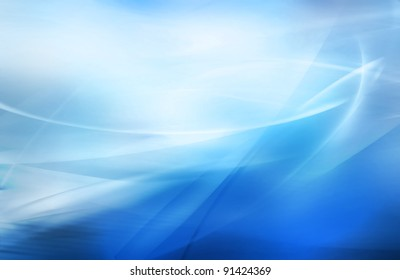 abstract blurred blue background with different shades of color