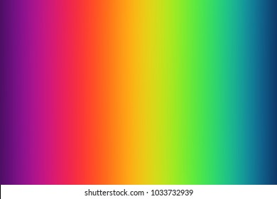 Abstract blurred gradient background in bright rainbow colors.Abstract background.