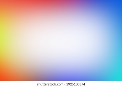 Abstract blurred  Multi color, Rainbow gradient and vertical, nobody, gradient, free space for text