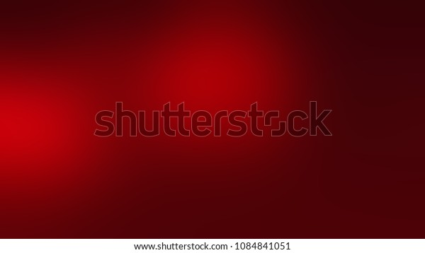 Abstract blurred red background