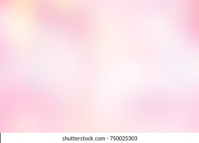 abstract blurry beautiful pink and yellow colorful background for design concept ,blurry glamour soft pastel color wallpaper