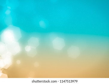 Abstract blurry blue background light