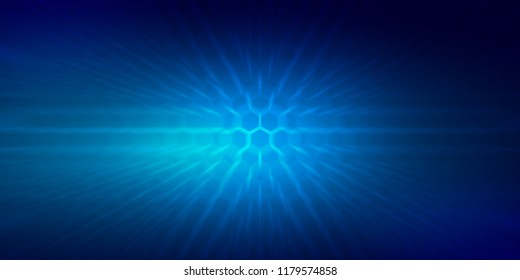 Abstract blurry blue rectangles background wallaper illustrated