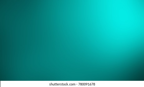 Abstract blurry turquoise background