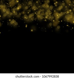 Abstract bokeh background, blurred lights