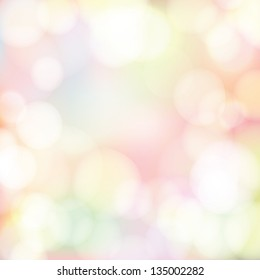 Abstract bokeh background. Spring theme