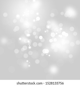 Abstract bokeh background and winter bokeh