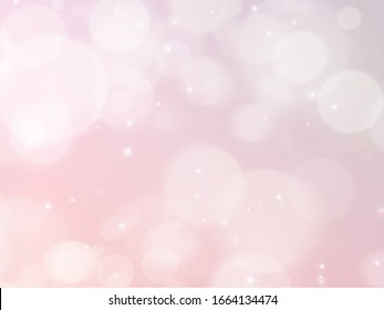 Abstract bokeh light effect background. Colorful gradient blurred and pastel colored. Picture for creative wallpaper or design art work.