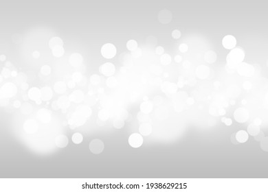 Abstract bokeh lights with soft light background illustration. Bokeh colorful glows sparkle beautiful Valentines Day concept. New year day