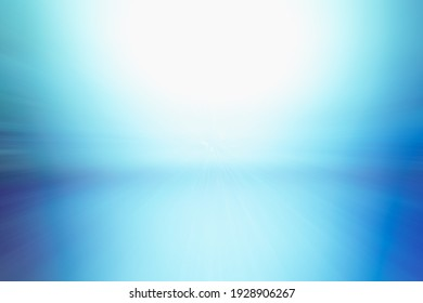 ABSTRACT BRIGHT BLUE BACKGROUND WITH GRADIENT OF WHITE, MODERN DIGITAL SPACE FOR WEB DESIGNS, SCREENS AND DISPLAYS