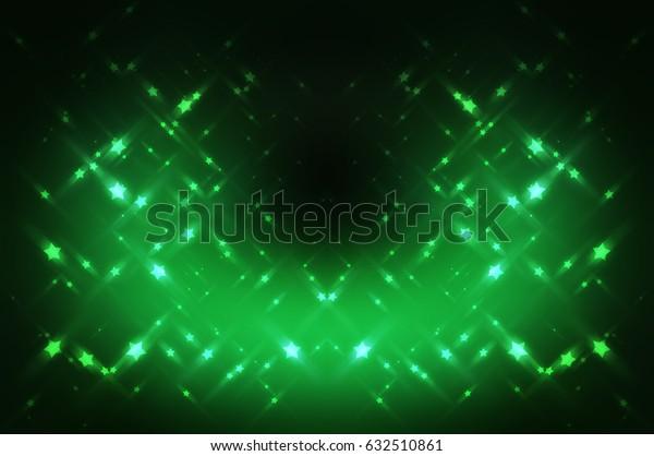 Abstract bright glitter green background. elegant illustration
