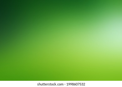 Abstract bright green background digital illustration summer, Spring green gradient concept life ecology of leaves, sunlight, wind blended natural environment. layout design web decoration, banner