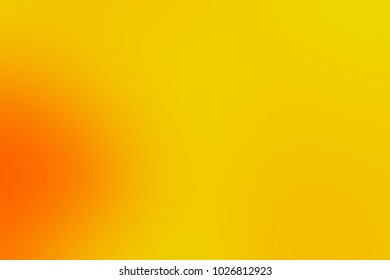 Abstract bright soft colorful smooth blurred textured background off focus toned in warm orange and yellow color. Can be used as a wallpaper or for web design.