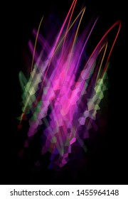 Abstract bright violet background. Graphic illustration.