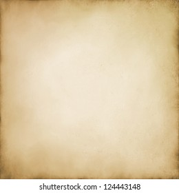 abstract brown background beige tan color, elegant warm background of vintage grunge background texture white center, beige brown paper bag style or old sepia parchment for brochure or web template