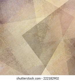 abstract brown beige background with faded gray purple grunge rectangle shapes layered in random pattern